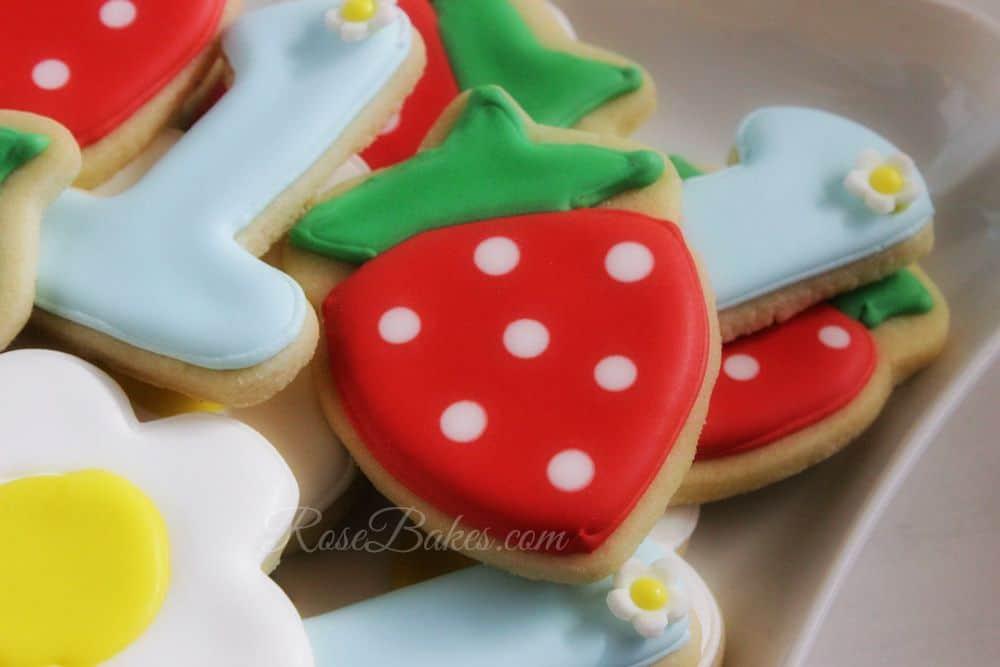Strawberries-Cookies