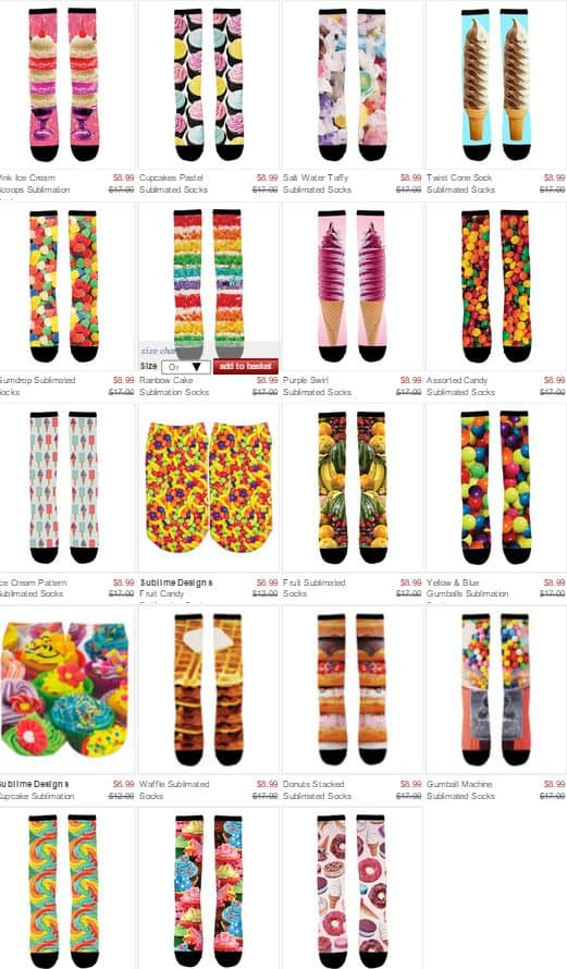 Sublime Socks