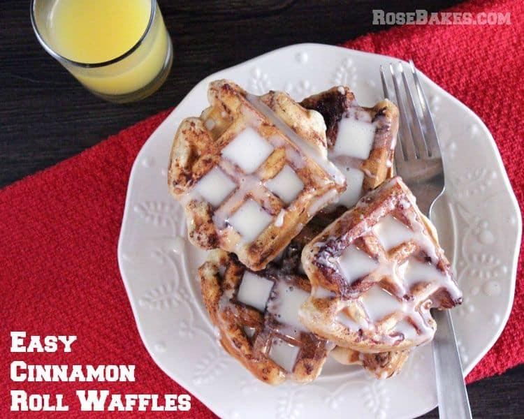 Easy-Cinnamon-Roll-Waffles-Recipe