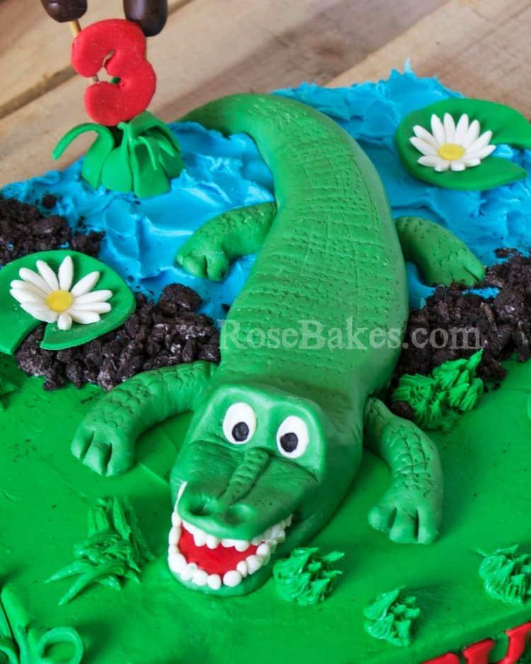 Modeling Chocolate Alligator