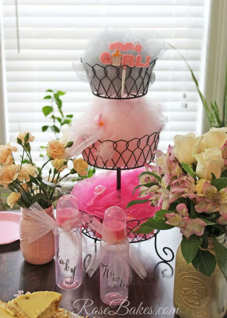 Shabby Chic Baby Shower Decor