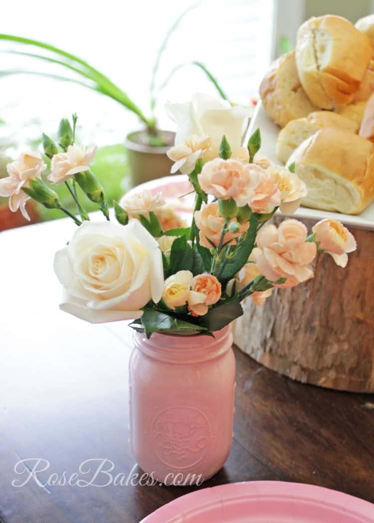 Shabby Chic Fresh Flowers
