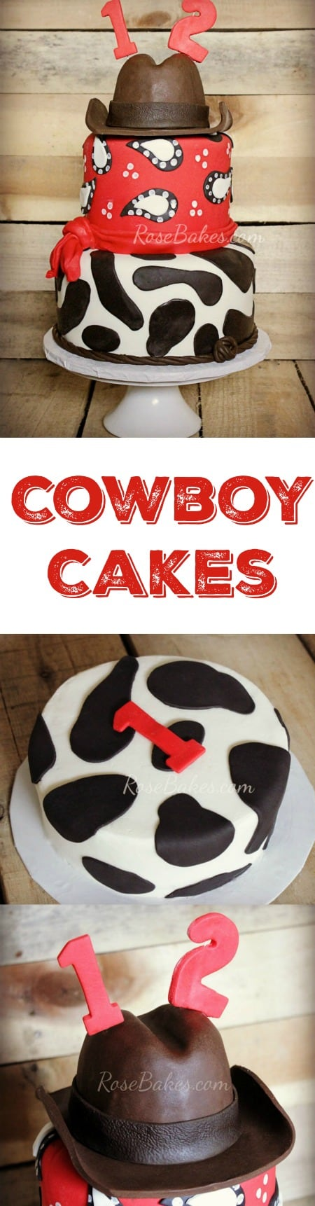Cowboy Cakes and Smash Cakes