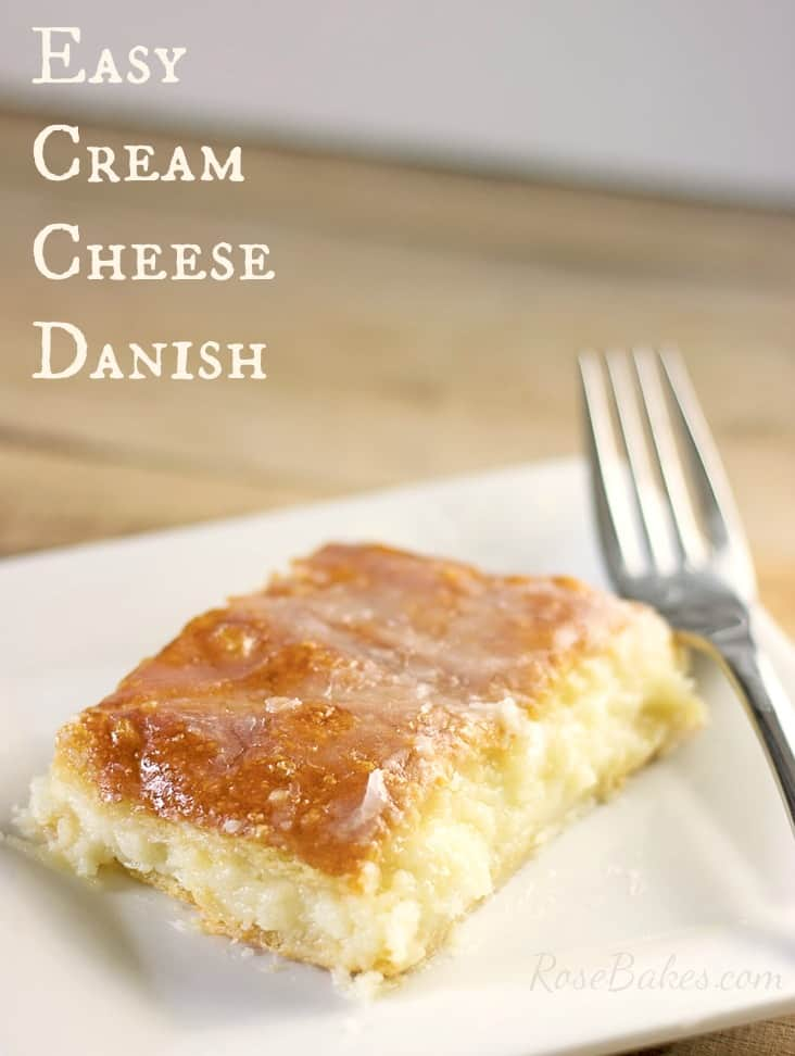 … this Easy Cream Cheese Danish has crescent rolls, cream cheese ...