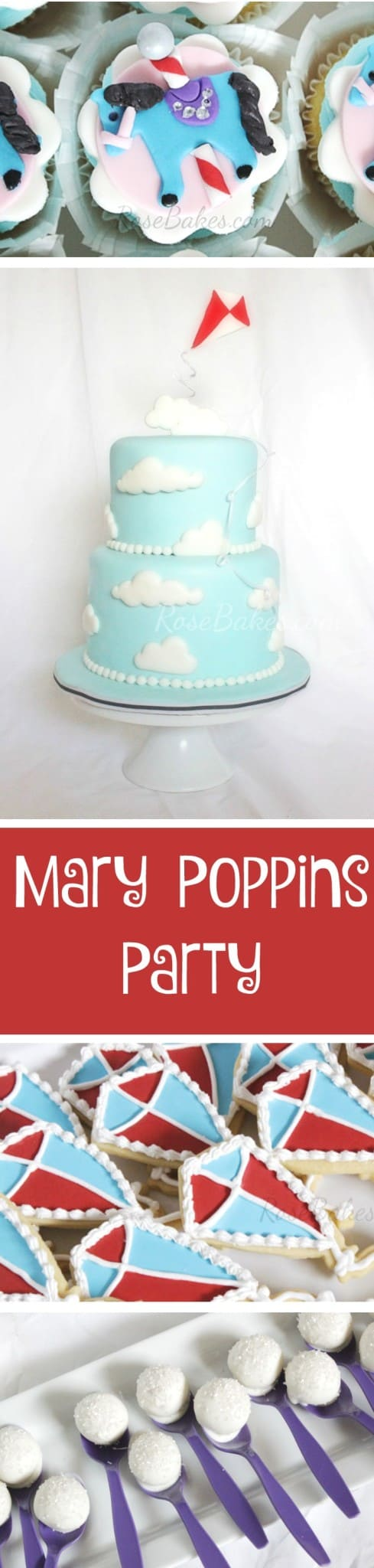 Mary Poppins Party Dessert Table