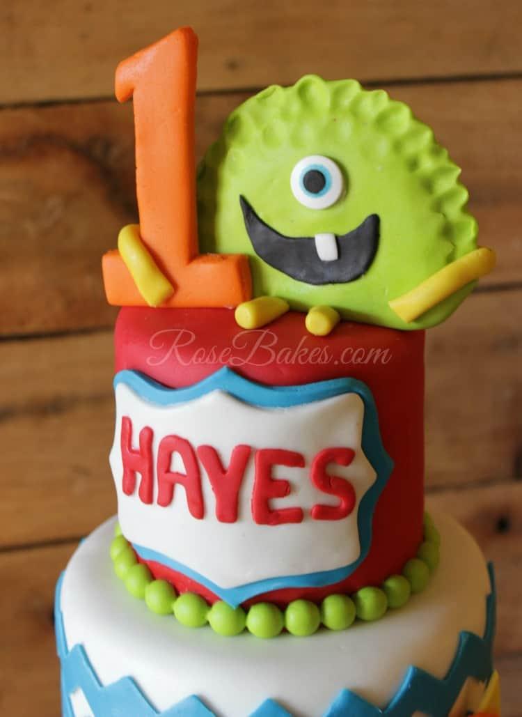 1000  ideas about Monster Cakes on Pinterest | Monster Cake Pops ...