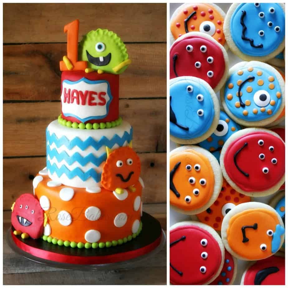 Monsters Inc Birthday Cake Decorations