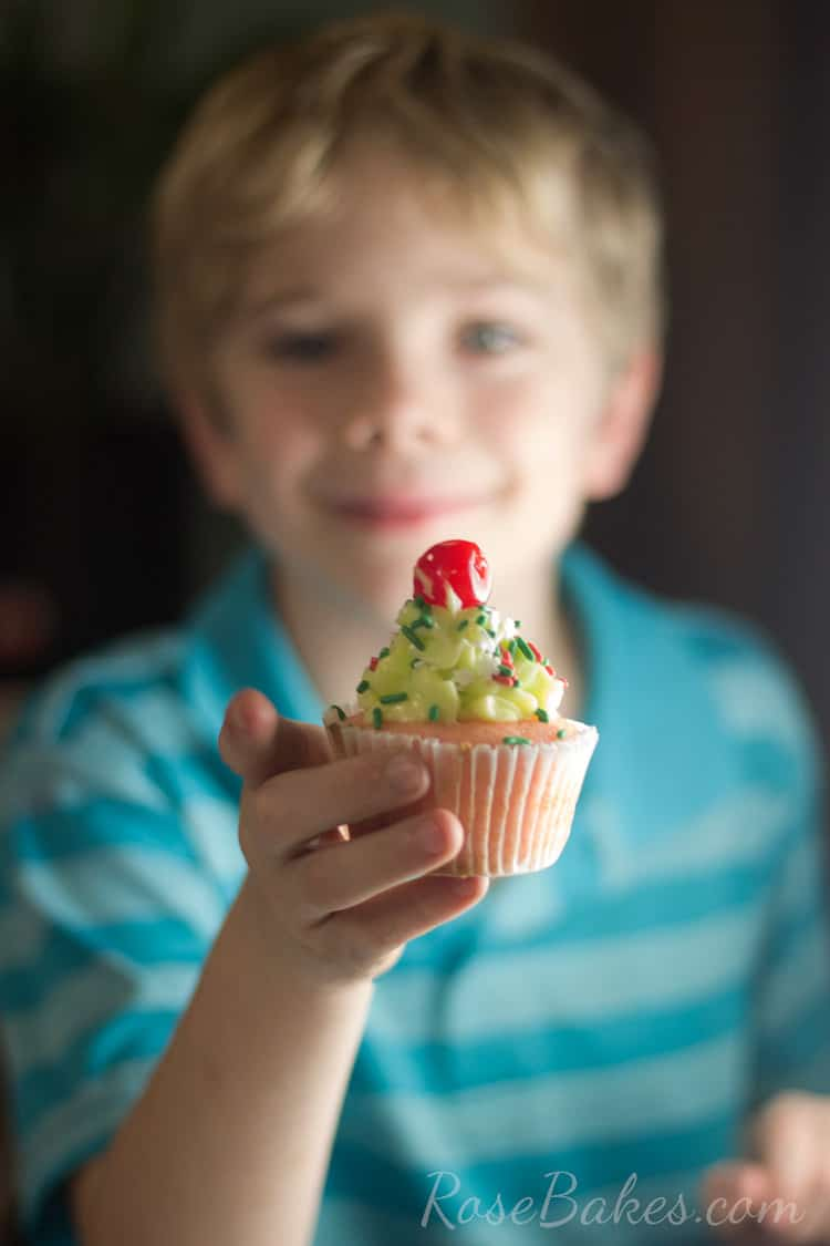 Christian-with-Cupcake