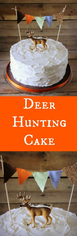 Deer Hunting Cake RoseBakes.com