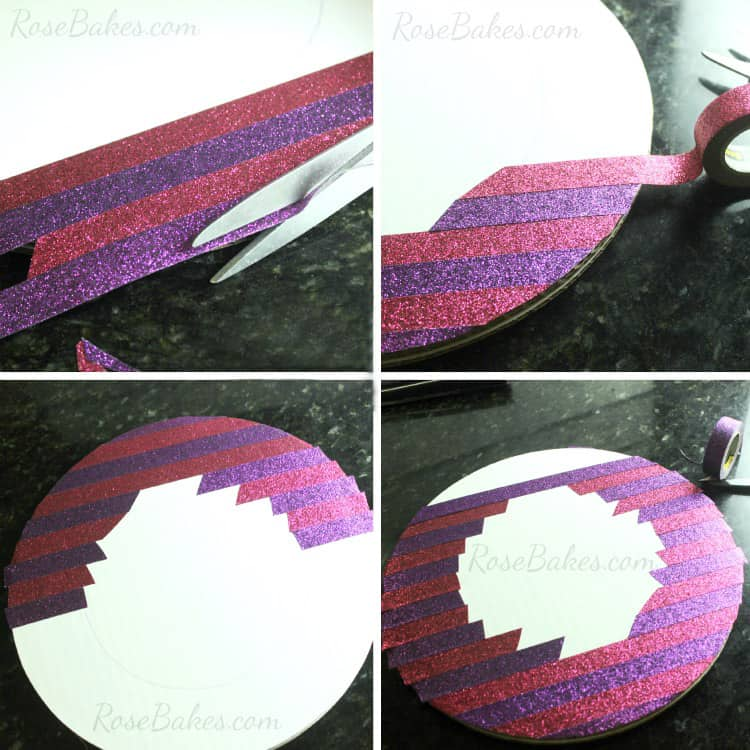 How-to-Decorate-a-Cake-Board-&-Cake-with-Scotch-Brand-Expressions-Tape-04