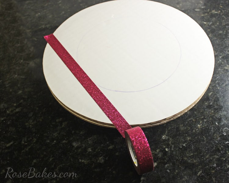 How-to-Decorate-a-Cake-Board-&-Cake-with-Scotch-Brand-Expressions-Tape-05