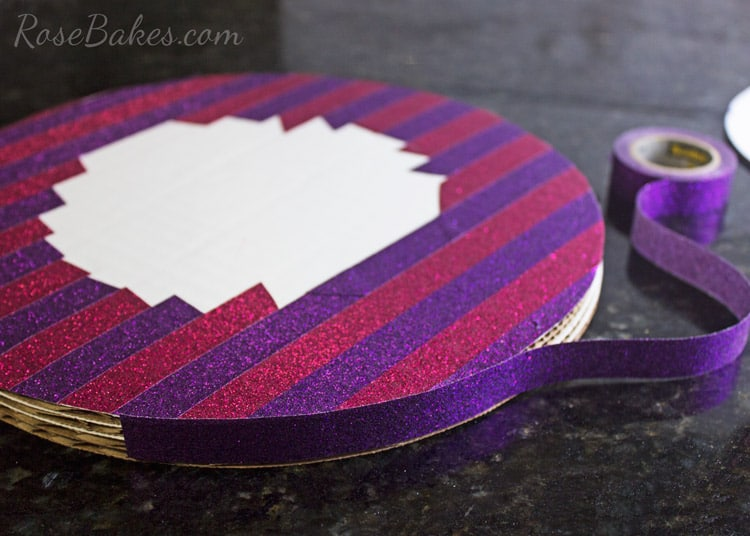 How-to-Decorate-a-Cake-Board-&-Cake-with-Scotch-Brand-Expressions-Tape-08