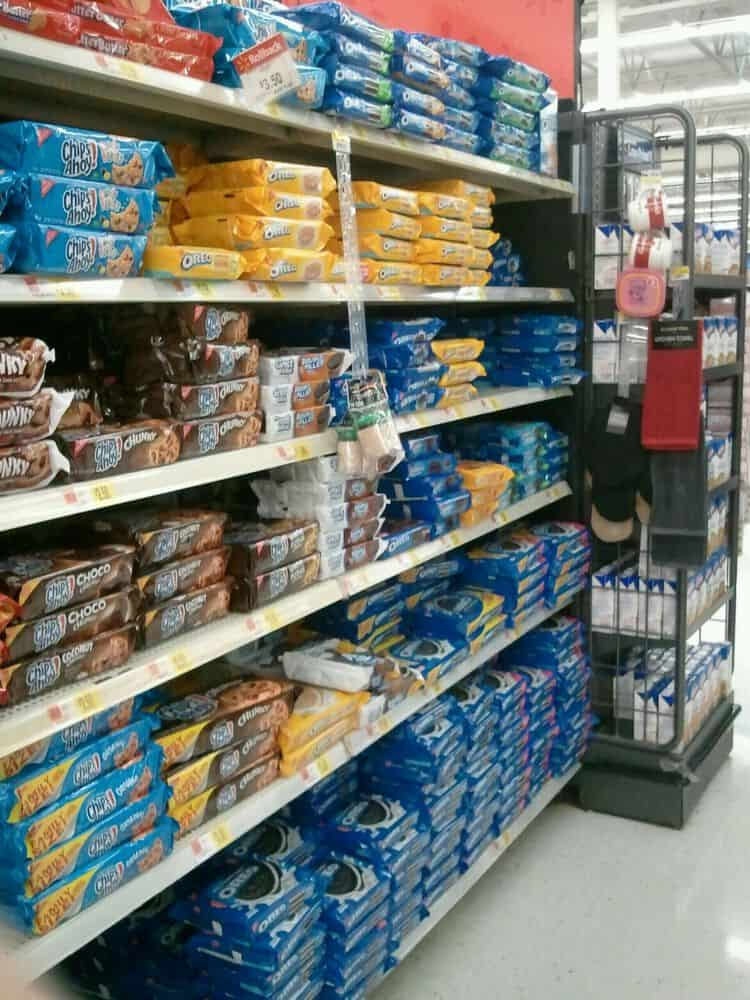 Oreos on the cookie aisle