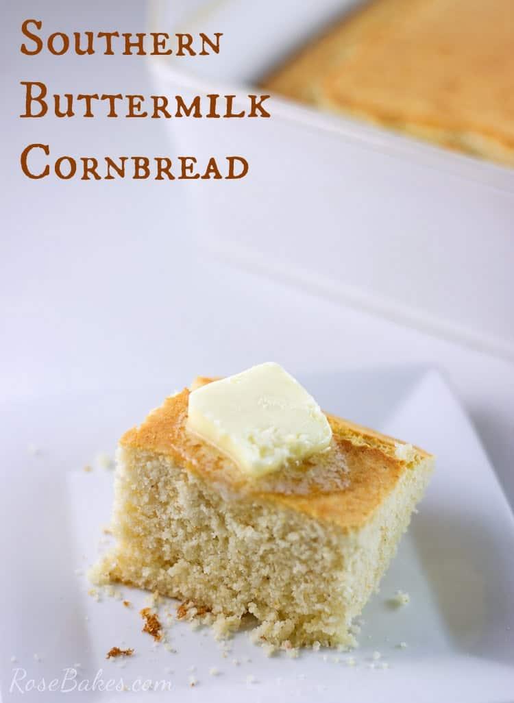 Southern-Buttermilk-Cornbread-Recipe