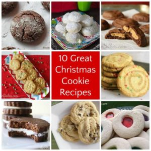 10 Great Christmas Cookie Recipes | RoseBakes.com