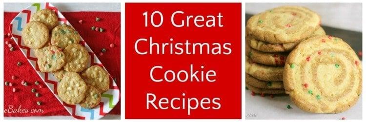 10 Great Christmas Cookie Recipes | RoseBakes.com