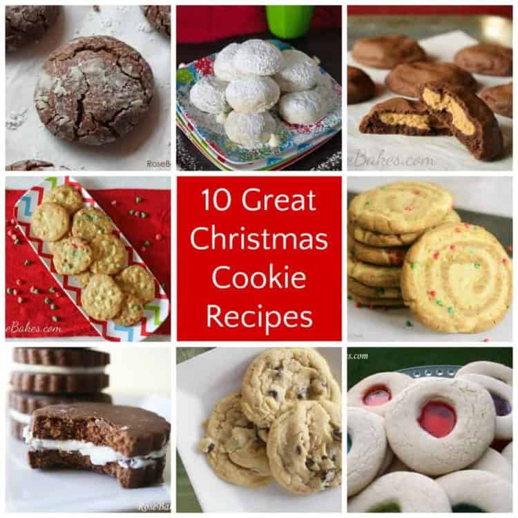 10 Great Christmas Cookie Recipes