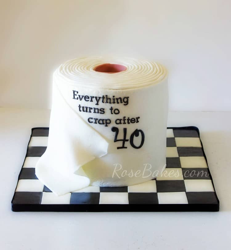 Funny Things On Birthday Cakes