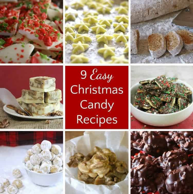 9 Easy (Last-Minute) Christmas Candy Recipes - Rose Bakes