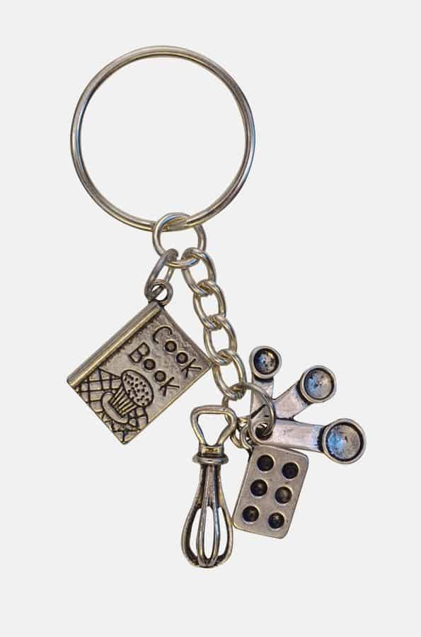 Baker Lovers Keychain