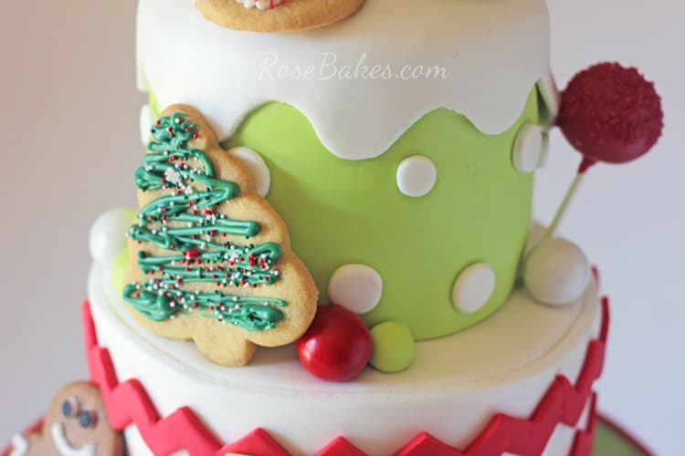 Christmas-Cookie-Decorating-Birthday-Party-Cake-02