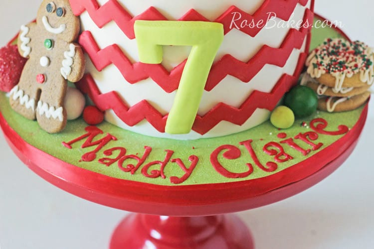 Christmas-Cookie-Decorating-Birthday-Party-Cake-03