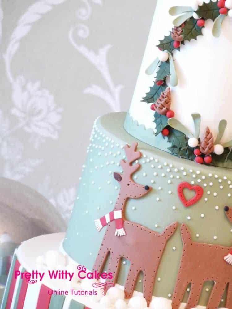 Classic Christmas Cake 3