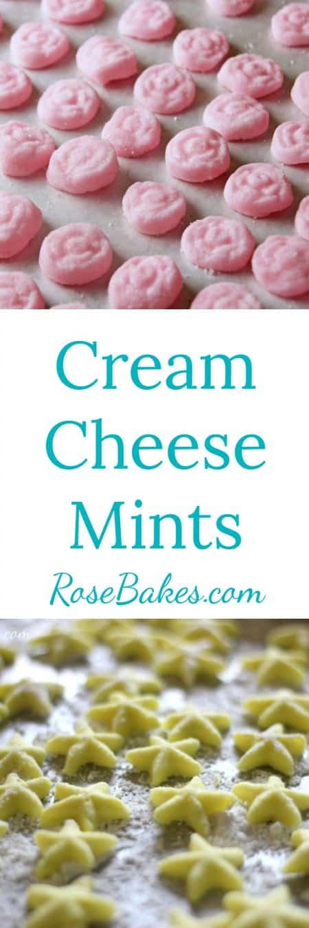 Cream Cheese Mints by RoseBakes.com