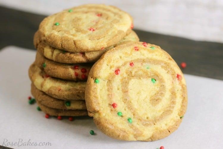 Gingerbread Sugar Cookie Pinwheels 03