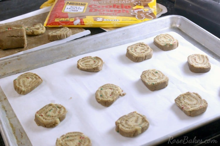 How to Make Gingerbread Sugar Cookie Pinwheels 08