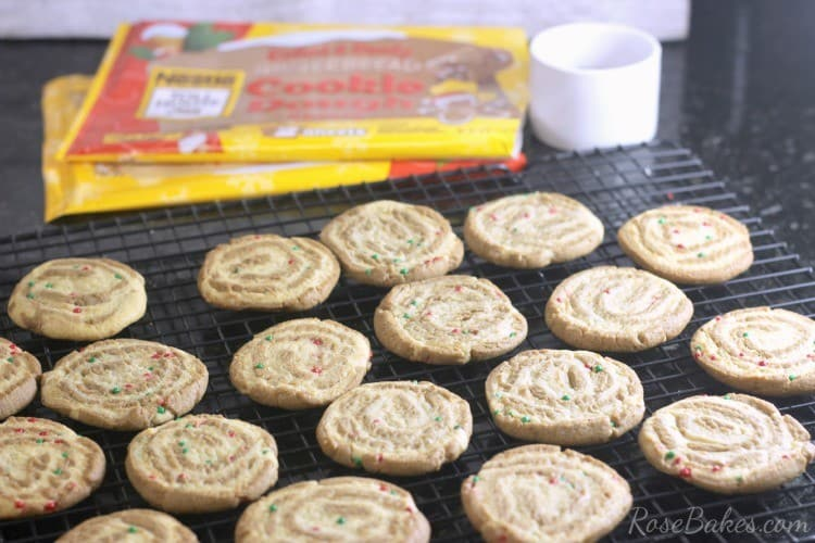 How to Make Gingerbread Sugar Cookie Pinwheels 10