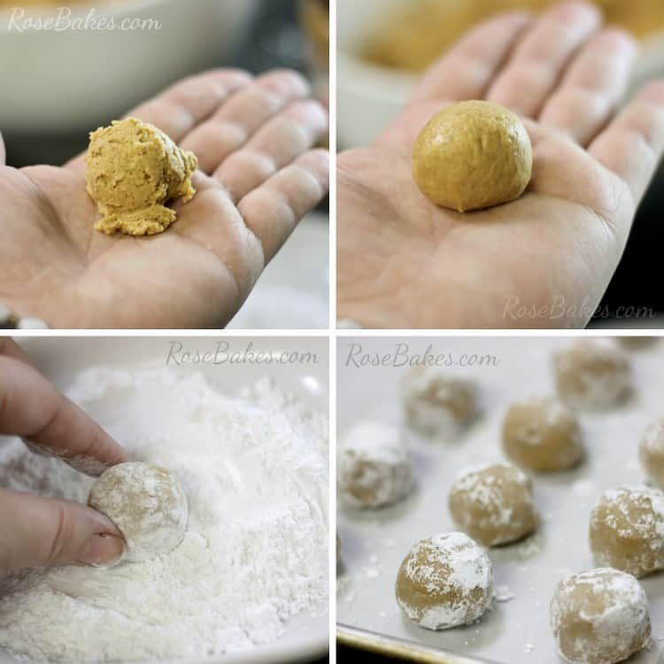 How to Make Peanut Butter Snowballs 04