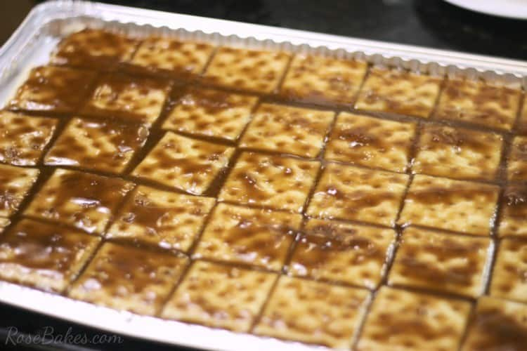 crack candy recipe with saltines
