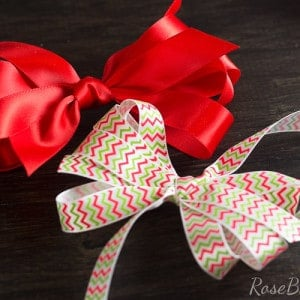 Easy Bow Tutorial | RoseBakes.com