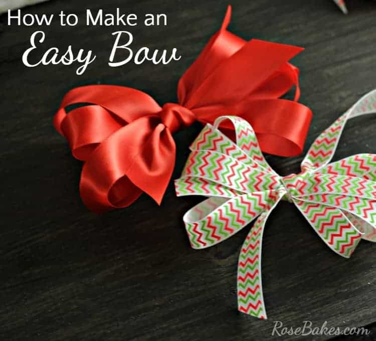 How to Make an Easy Bow