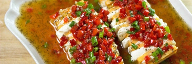 Marinated Cheese Appetizer   RoseBakes.com. This cheese appetizer is easy, can be made ahead and is perfect party food for Christmas!