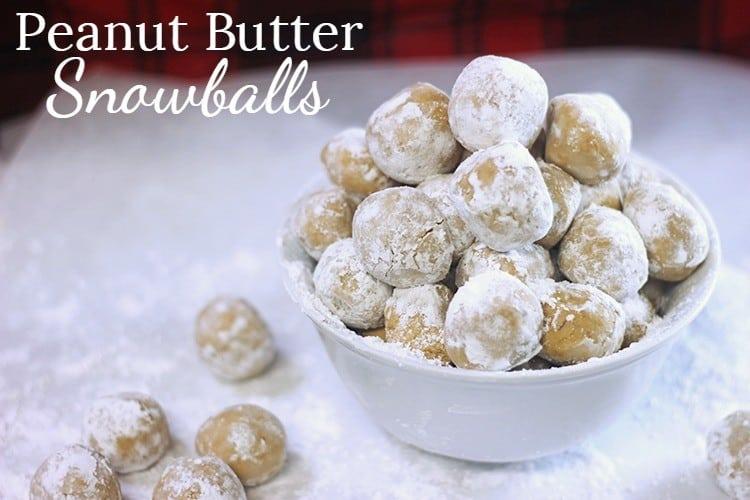 Peanut Butter Snowballs Rose Bakes