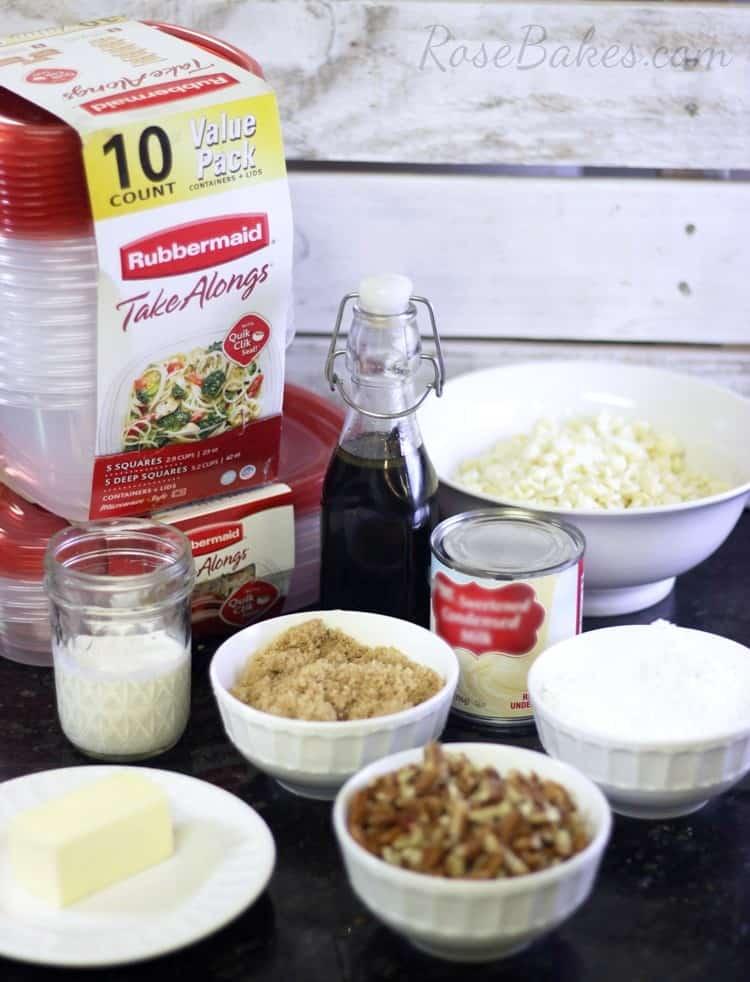 Pralines-&-Cream-Fudge-Ingredients