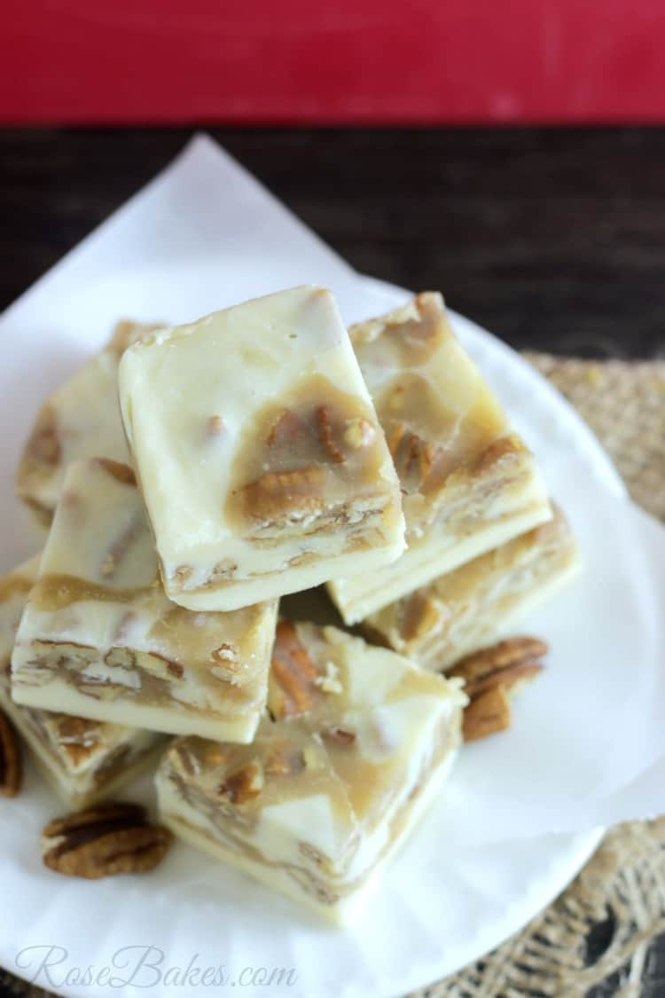 Pralines & Cream Fudge by Rose Bakes