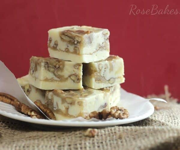 Pralines & Cream Fudge | RoseBakes.com