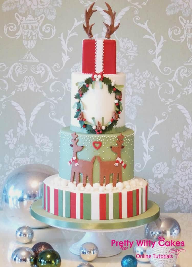classic Christmas cake