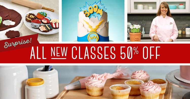 All New Classes 50% off