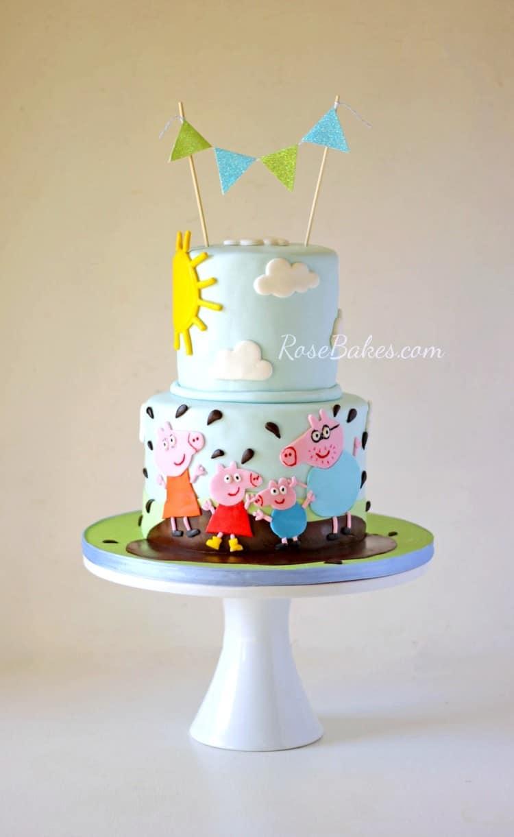 Boy Peppa Pig Cake