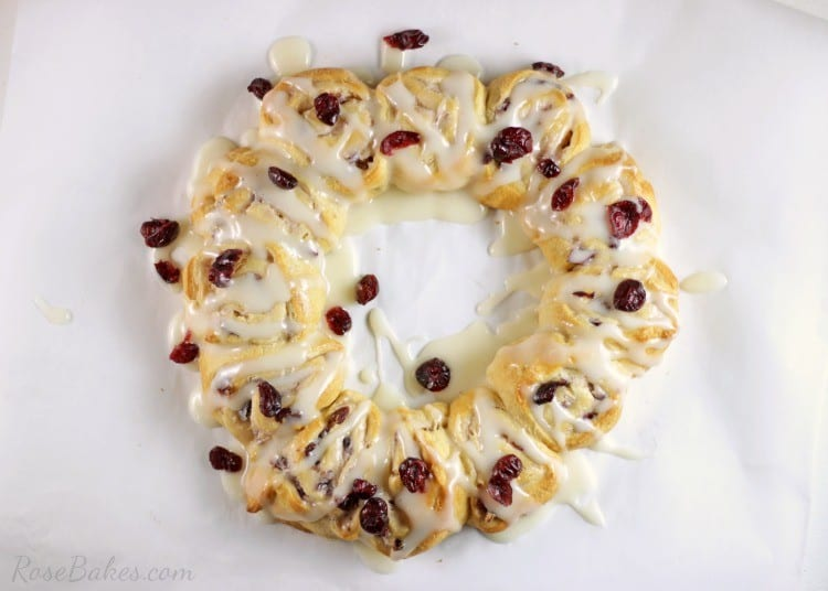 Christmas Cranberry Wreath