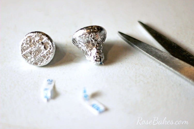 How to Make Valentines Hershey Kisses Mice RoseBakes