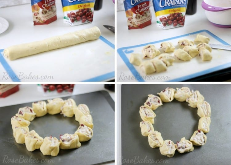 How to Make a Cranberry Crescent Ring 03