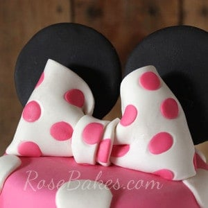 Minnie Mouse Bow Topper