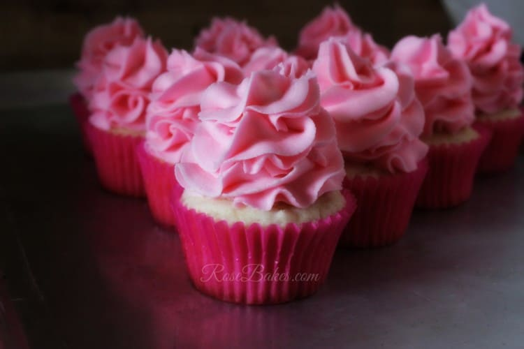 Pink 99th Birthday Cupcakes-1
