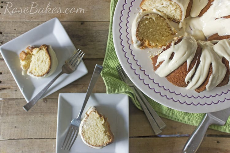 Simple Butter Pound Cake