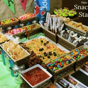 How to Build a Snack Food Stadium